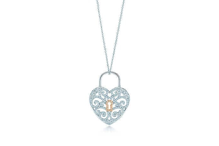 Tiffany Heart Lock Pendant. Source: Tiffany & Co.