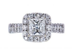 GIA 0.89 CT Round Cut Solitaire Tiffany & Co. Ring, G, IF. Sold at auction for $3,969.