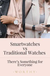 Smart Watches vs. Traditional Ones