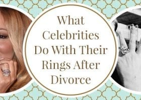What Did Celebrities Do with Their Rings After Divorce