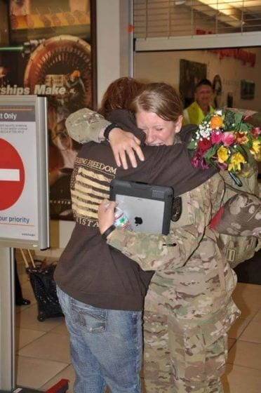 home from afghanistan
