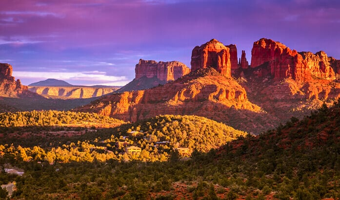 Sedona, Arizona. 6 Adventure Vacations to Jump Start Your Retirement