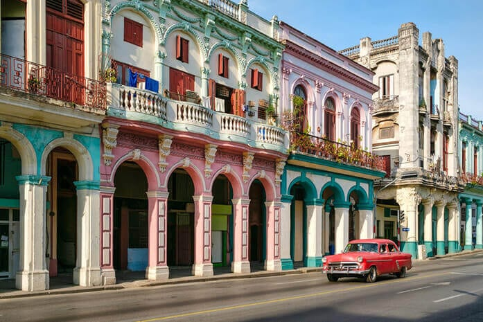 Havana, Cuba. 6 Adventure Vacations to Jump Start Your Retirement
