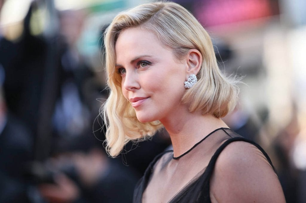 Charlize Theron at the 70th Cannes Film Festival