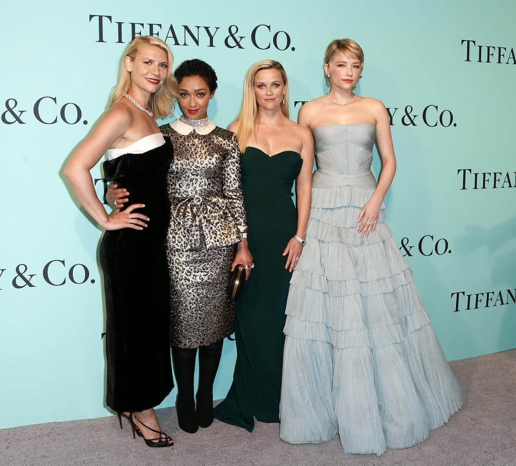 Claire Danes, Ruth Negga, Reese Witherspoon and Haley Bennett at Tiffany & Co. 2017 Blue Book Collection Gala