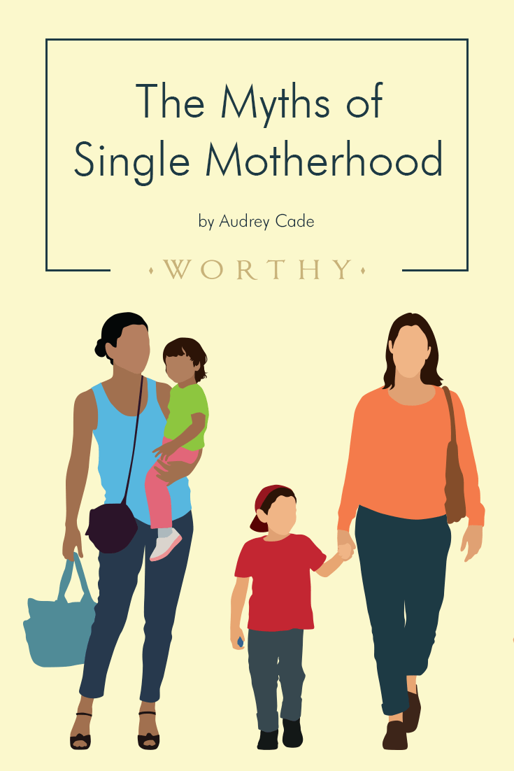 Audrey Cade talks with four single moms about the biggest myths and misconceptions about single motherhood.