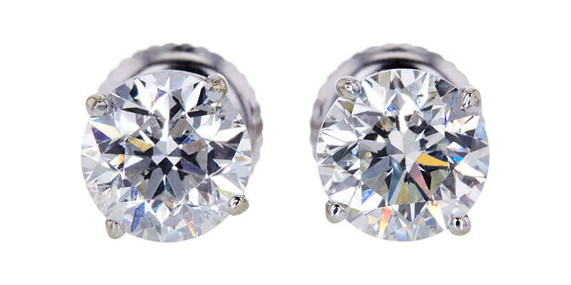Diamond studs. Image source: Worthy