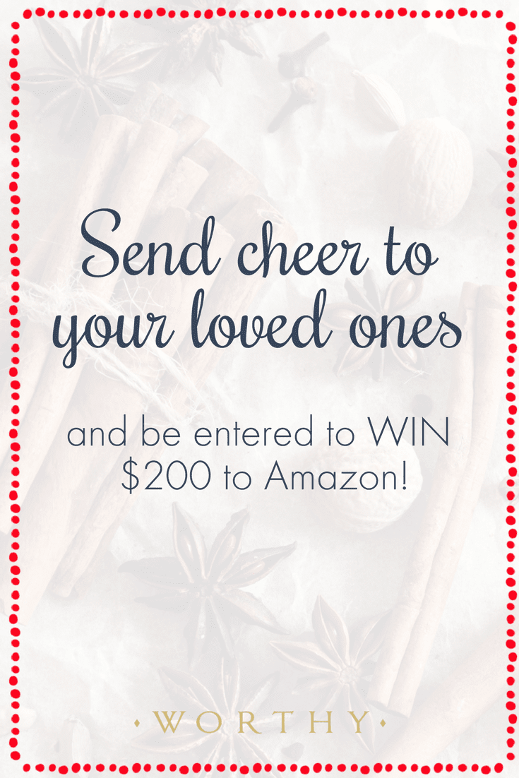 Introducing Worthy Cheer, a holiday custom card creator to send thanks to the worthy people in your life! Create your own card and enter to win!