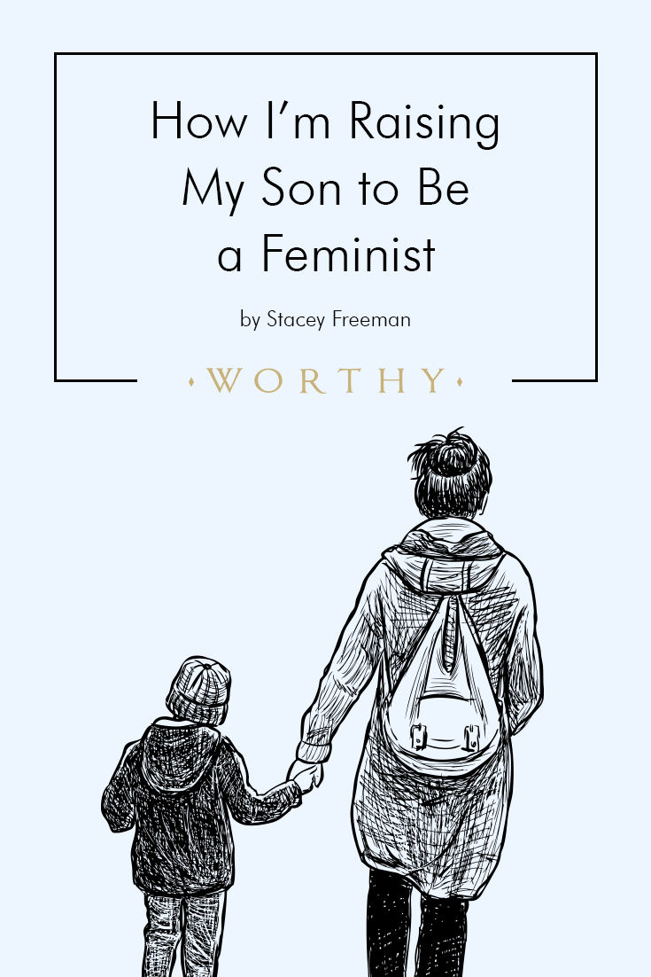 As a mother to a young son, I still have the power to guide him to become a man who respects and treats women as equals. Here's how I'm doing my part.