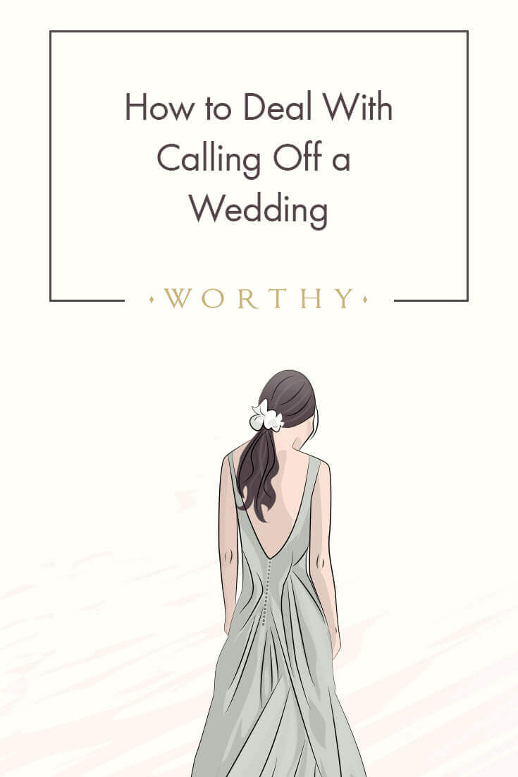 Knowing the etiquette will lighten the burden of canceling a wedding. From notifying guests to returning the dress, here's all you need to know.