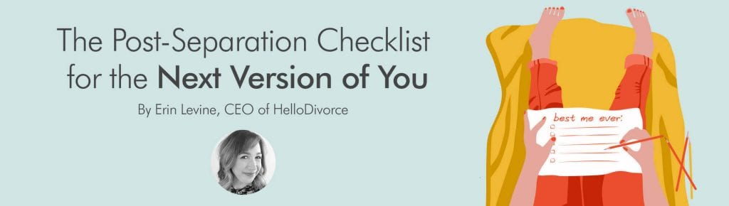 The post seperation checklist