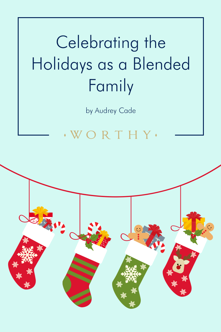 Here's how Audrey Cade's blended family of eight navigates the busy holiday season while making as much time for quality bonding!