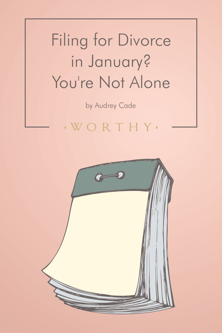 Is divorce on the horizon? You're not the only one. Audrey Cade explores why January is divorce month and shares tips to make the process go smoothly.