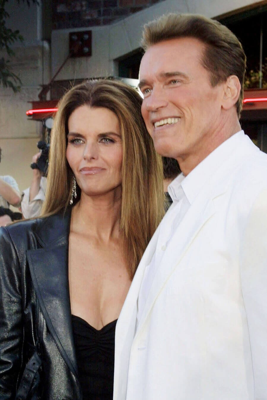 Maria Shriver and Arnold Schwarzenegger in 2003. Photo credit: Kathy Hutchins / Shutterstock.com