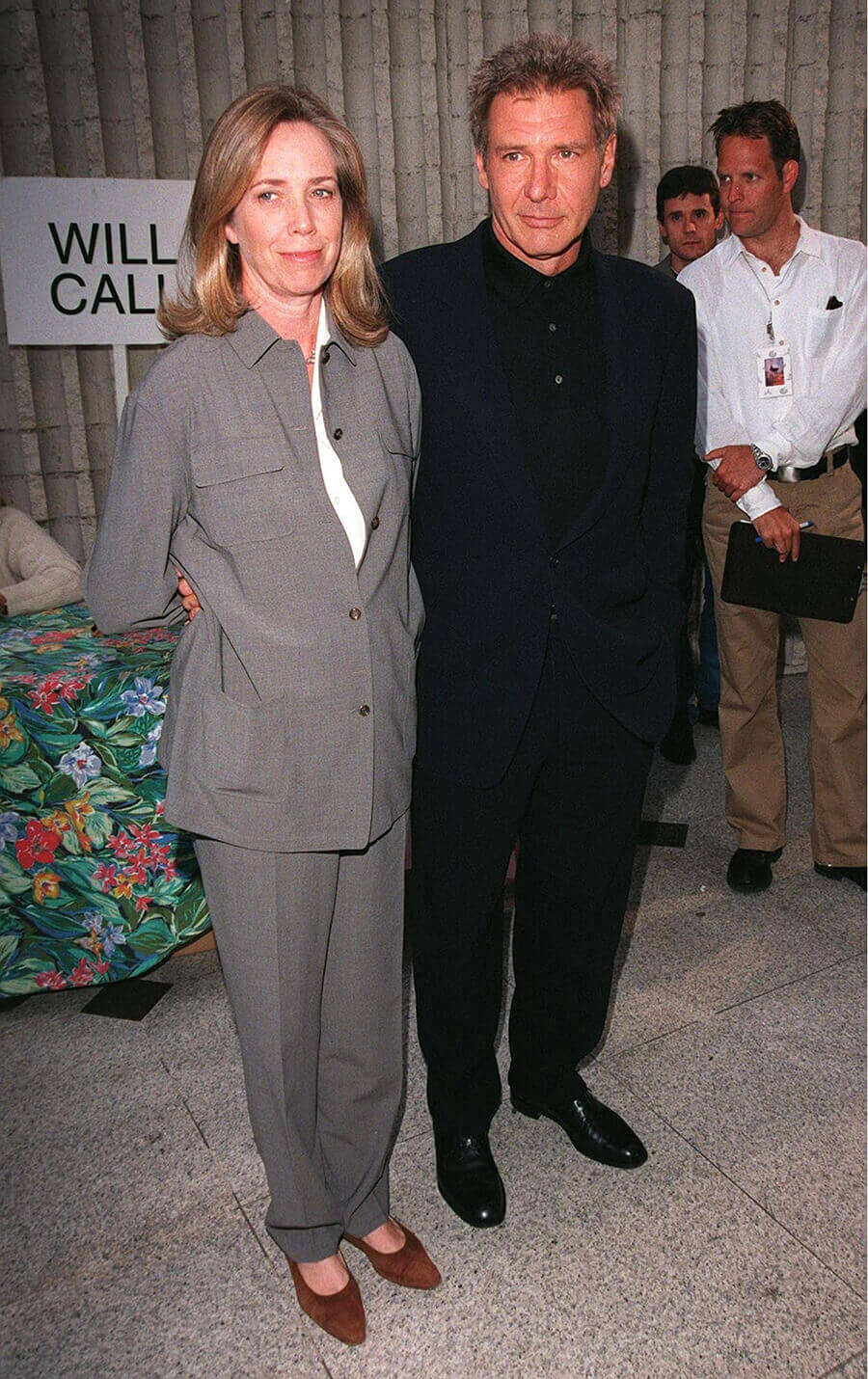 Melissa Mathison and Harrison Ford in 1998. Photo credit: Featureflash Photo Agency / Shutterstock.com