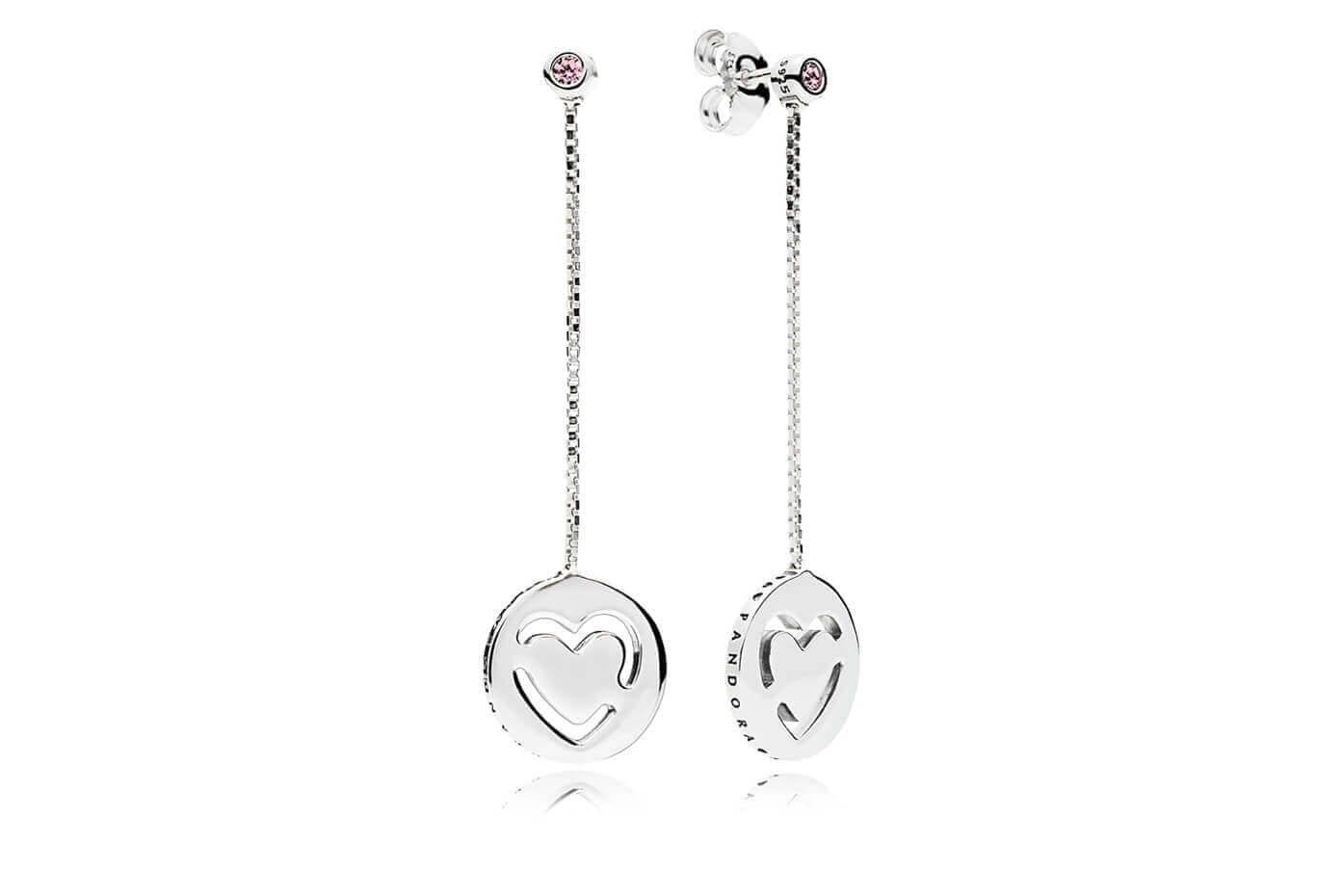 pandora earrings Valentine's Day Collection