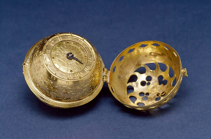 The earliest dated watch known, from 1530. It belonged to the Protestant Reformer Philipp Melanchthon, and is now in the Walters Art Museum in Baltimore.
