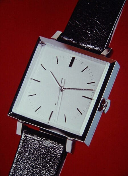 Worlds first electronic quartz wristwatch BETA 1 developed by the Centre Electronique Horloger (CEH) in Neuchâtel, Switzerland, published in 1967