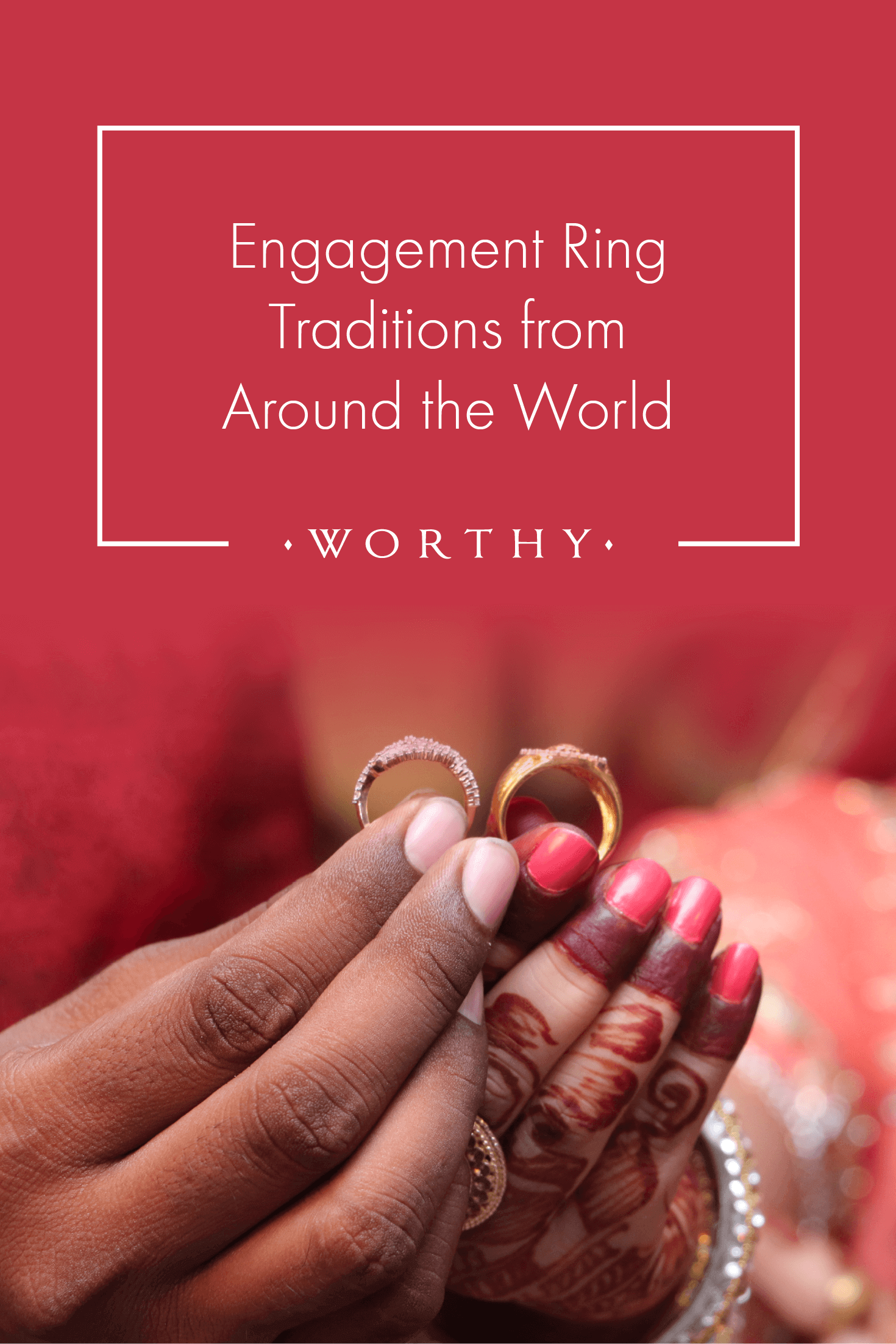 Ever wonder about engagement rings in Sweden, Mexico or India? Learn more about engagement ring traditions from around the world.