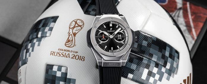 2018 World Cup Players and Their Watches