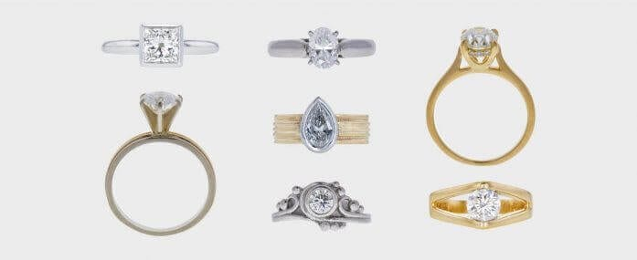 Diamond Solitaire Ring Trends with a Twist