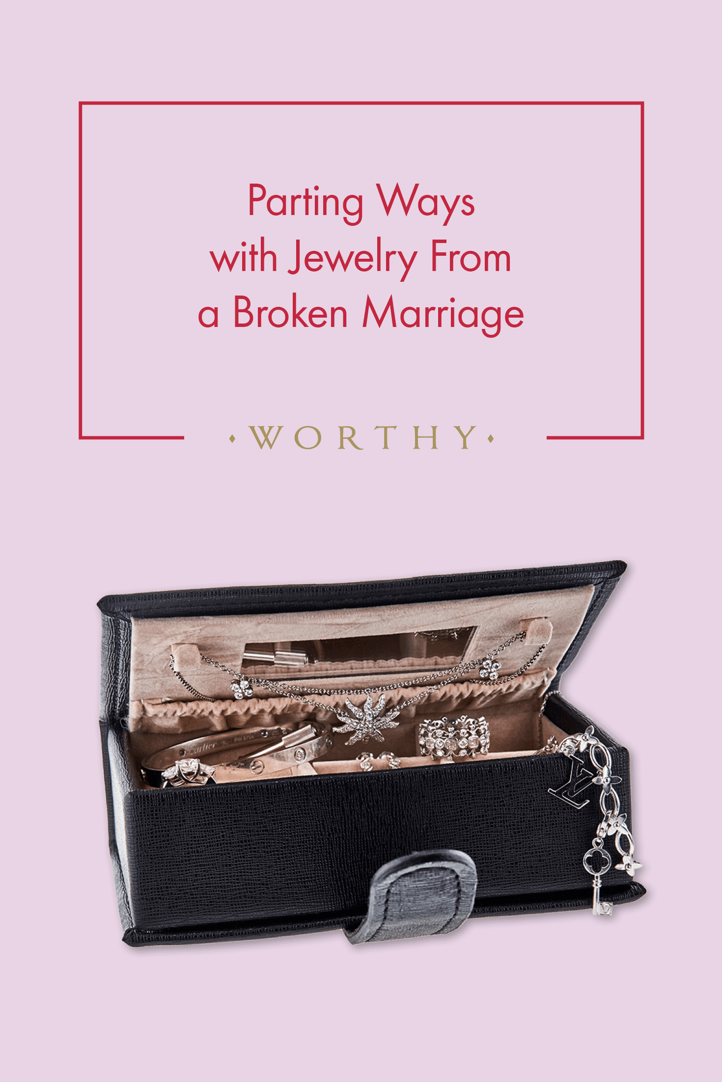 Should you sell jewelry gifts from a previous marriage? Our client and contributor Jennifer Butler shares her journey of letting go.