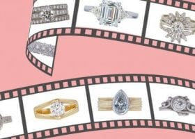 engagement rings from movies and tv
