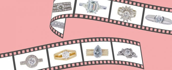 Showstopping Engagement Rings in Movies and TV