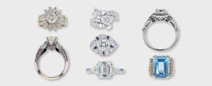 Guide to Vintage & Antique Engagement Rings