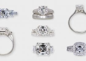 Guide to Asscher Cut Diamonds