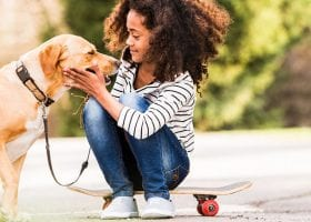 Pets Help Kids Process Divorce