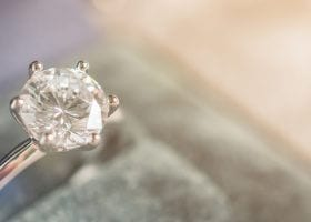Moissanite vs Diamond - the Difference