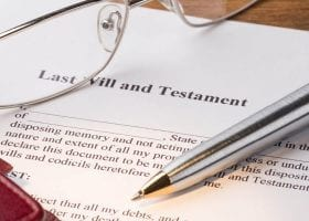 disinheriting a family member