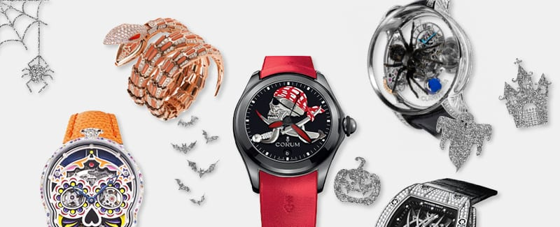 5 Watches Perfect For Your Ghoulish Side