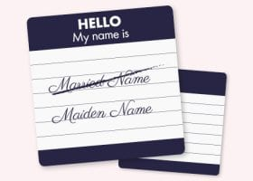how to change name after divorce