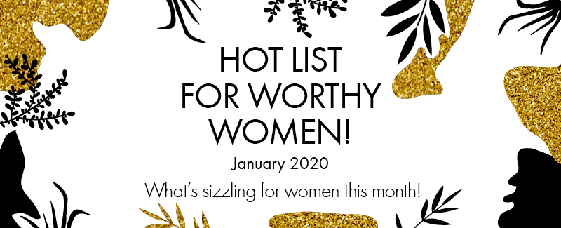 Worthy's Hot List for January 2020: Happy Jazzy New Year!