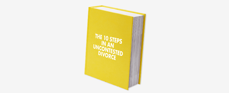 The 10 Steps In An Uncontested Divorce