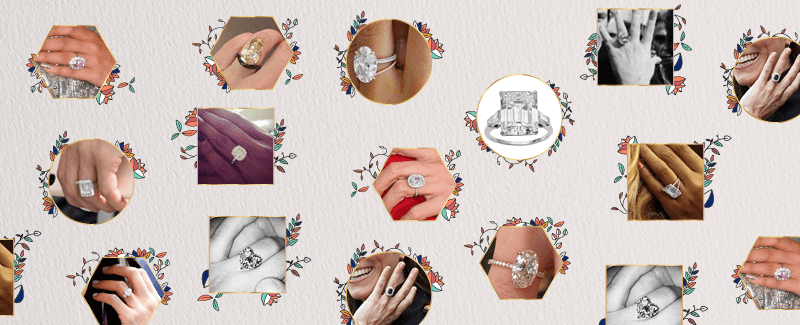 Engagement Ring March Madness: Which Celebrity Ring Is Your Favorite?