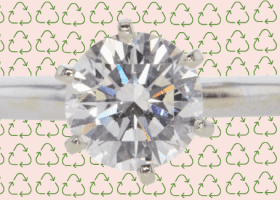 earth day recycled diamonds